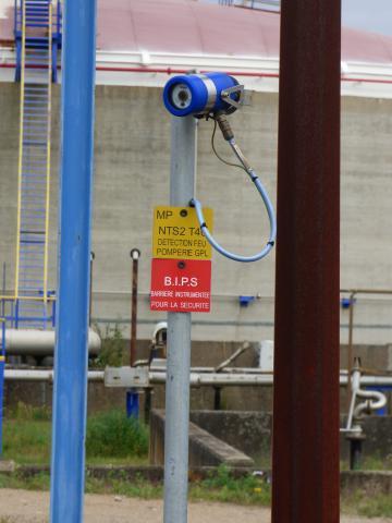 Photos détecteurs des installations du site